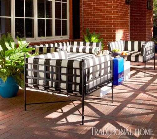 amalfi-tuxedo-chair-black-white-striped-cushions