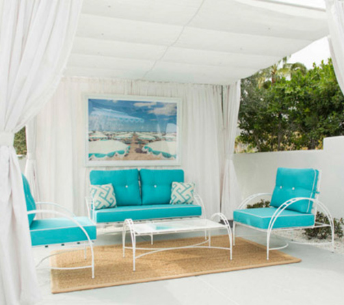 phoenician-lounge-chair-white-frame-turquoise-cushions